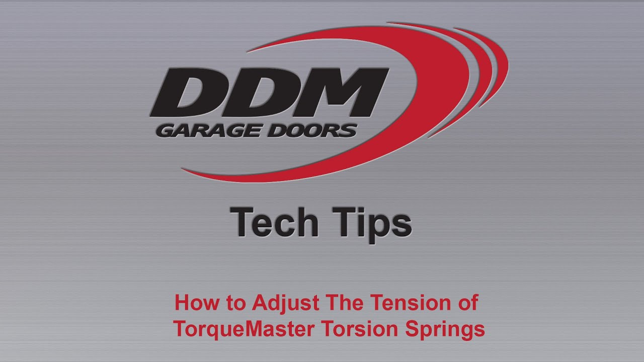 Ddm Tech Tips How To Adjust The Tension Of Torquemaster