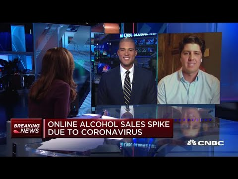 Drizly CEO On How Online Alcohol Sales Spiked Due To Coronavirus