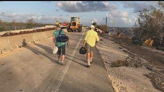 Everglades City left flooded, stranded by Hurricane Irma
