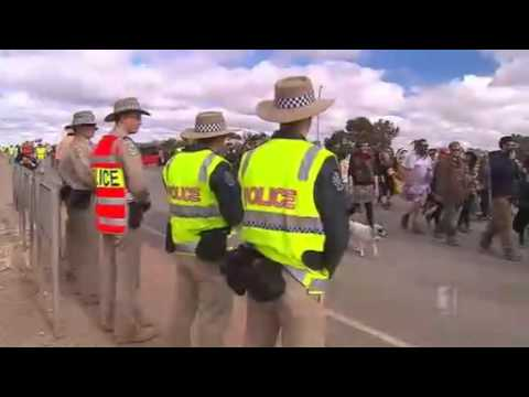 Protesters Blockade BHP Mine Site