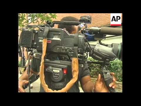 USA: ALBRIGHT & COHEN AFRICAN BOMB ATTACKS PRESS CONFERENCE