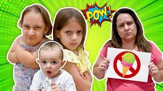 Novas Regras de Comportamento  para Irmãos e Bebês (New Rules of Conduct) - MC Divertida