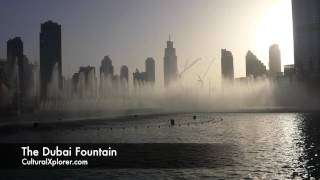 The Dubai Fountain: Day & Night