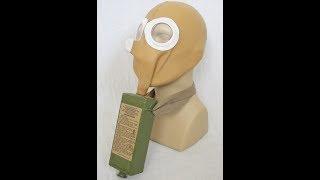 Replica Russian Zelinsky-Kummant Gas Mask (WWI Russian Gas Mask)
