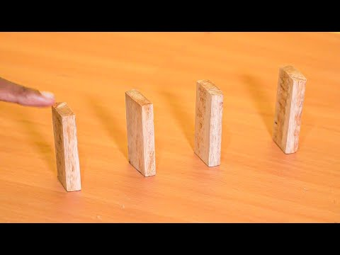 How To Make Wood Domino