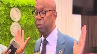 Safaricom limited CEO Bob Collymore comments on NASA claims on 2017 elections