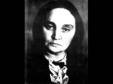 """Maria Yudina plays Mussorgsky  """"Duma"""""""