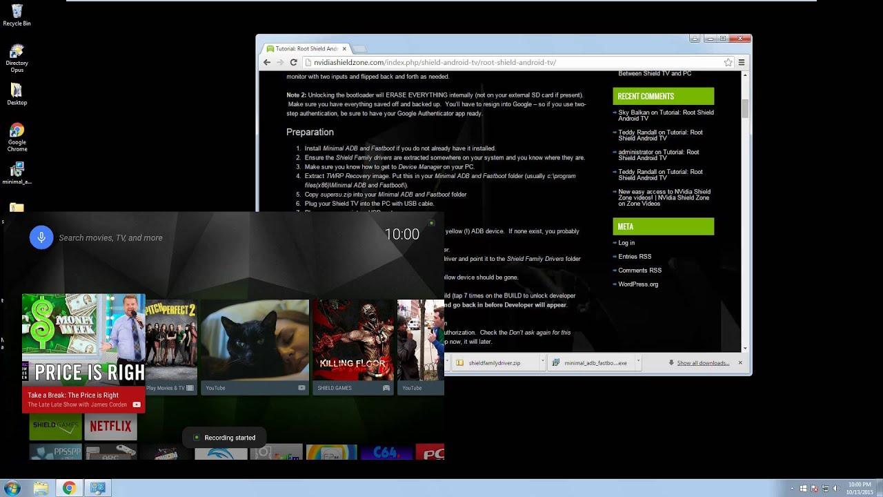Tutorial: Root Shield Android TV (V2 1)