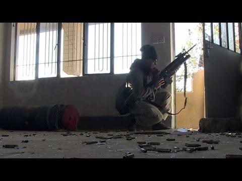 فرانس24 ترافق الفرقة الذهبية العراقية في معركة طاحنة في الموصل