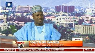NASS Has The Power To Invite IGP - Senate Pt 4 |Sunrise Daily |