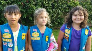 For new Daisy Girl Scouts