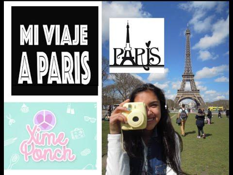MI VIAJE A PARIS, LA TORRE EIFFEL Video 111 Xime Ponch