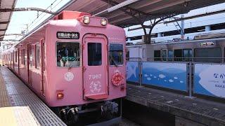 南海電気鉄道 加太線 (7100系めでたいでんしゃ・さち運行)  超広角車窓 進行右側 和歌山市~加太【4K60P】