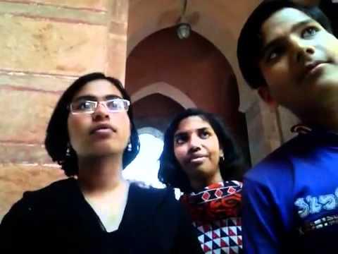 Inquisitive children visiting Bikaner Rajasthan India
