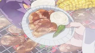 Dragon Ball Super-ChiChi Feeds Beerus and Vegeta