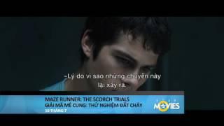 MAZE RUNNER 2 - GIẢI MÃ MÊ CUNG: THỬ NGHIỆM ĐẤT CHÁY trailer
