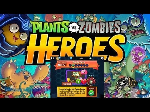 Plants vs Zombies Heroes Daily Challenge 3212018 March 21 Puzzle Party 21