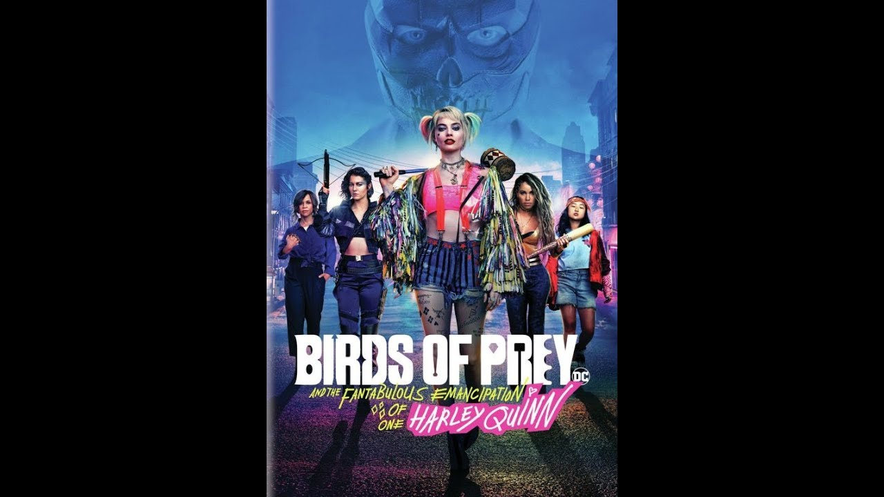 Opening To Birds Of Prey 2020 Dvd Youtube
