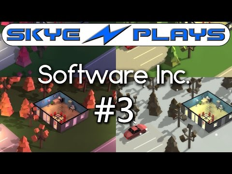 Software Inc Part 3 ►New Offices & Training!◀ Let's Play/Gameplay [1080p 60 FPS]