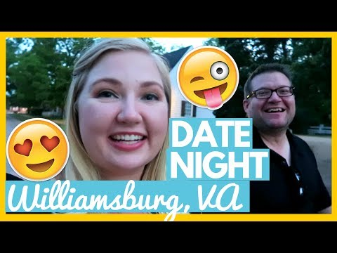 😍A NIGHT OUT IN COLONIAL, Williamsburg, VA 🚌 Full Time RV Living