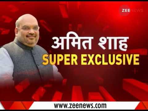 Exclusive : In conversation with Amit Shah   देखिए बीजेपी अध्यक्ष अमित शाह का खास इंटरव्यू
