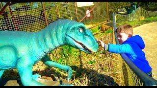Family Fun Kids Jurassic Dinosaur Park