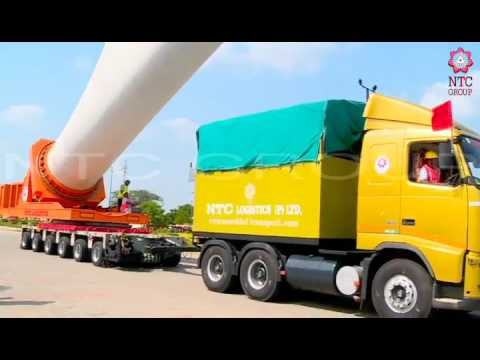 NTC Group - Introduction of the wind blade adapter