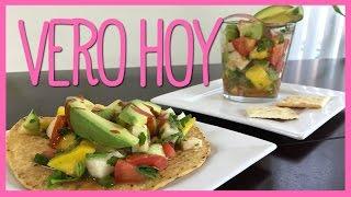 Ceviche Mexicano De Jicama Con Mango - Receta Vegetariana