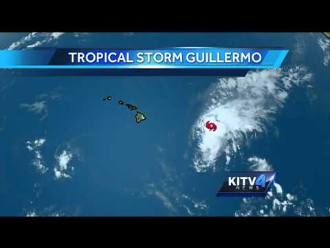 Maui County, Big Island under tropical storm watch