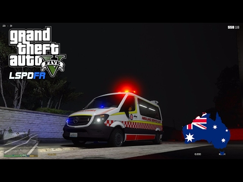 GTA 5 - LSPDFR Australia - Emergency 000 Livestream - NEW ELS-compatible ASNSW Mercedes Sprinter