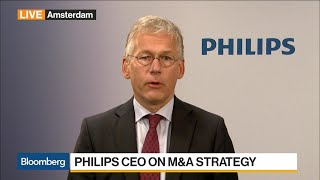 Philips CEO on 2Q Earnings, M&A, Personal Health Business