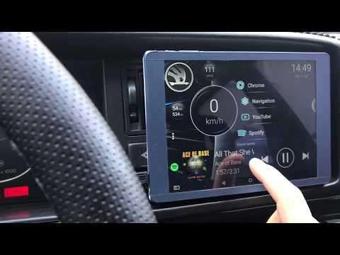 Car Tablet Installation