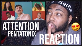[OFFICIAL VIDEO] Attention - Pentatonix | REACTION