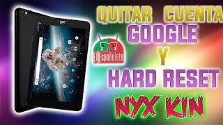 QUITAR PATRÓN + CUENTA DE GOOGLE - TABLET NIX KIN - LA NUEVA TABLETA !!!!!!