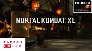 Mortal Kombat XL Gameplay on AMD FX 8350/RX 560 4GB (1080P FRAME RATE TEST)