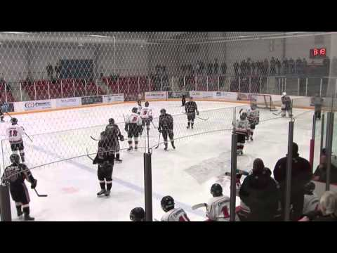 2012-13 SOJHL: Hagersville Hawks vs. Ayr Centennials (Game 5)