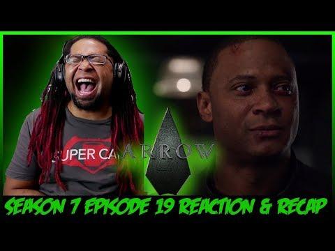"""Arrow Season 7 Episode 19 Reaction & Review """"Spartan"""""""