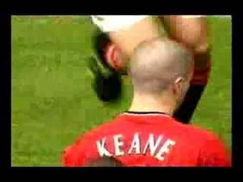 Roy Keane Ends Håland's Career In Manchester Derby