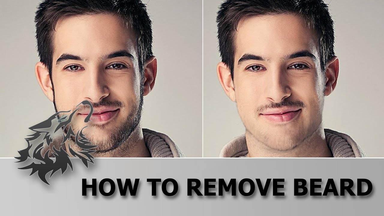 Adobe Photoshop: How to Remove Beard