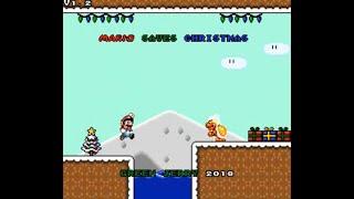 SMW Hack Longplay - Mario Saves Christmas