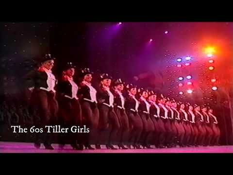 Sixties Tiller Girls (Royal Variety Performance) Victoria Palace Theatre 1991 HD