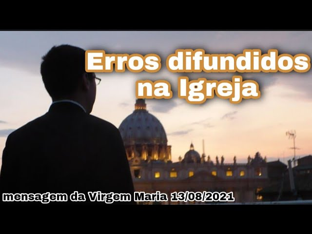 Messaggio della Madonna al fratello Eduardo Ferreira il 13 agosto 2021 a São José dos Pinhais, PR
