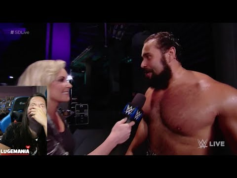 WWE Smackdown 9/19/17 Rusev is hilarious