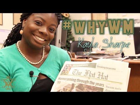 #whyWM: Kayla Sharpe '17