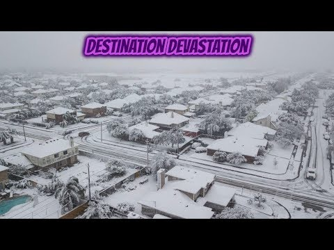 Snow anomaly in Texas: First snow in 13 years in Corpus Christi and in 8 years in Houston