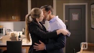 Chloe and Pierce hug, kiss and sleep together scene ep 7952