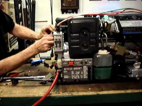 honda ev6010 wiring diagram honda ev6010 no start by pinellas power products 4 youtube  honda ev6010 no start by pinellas power