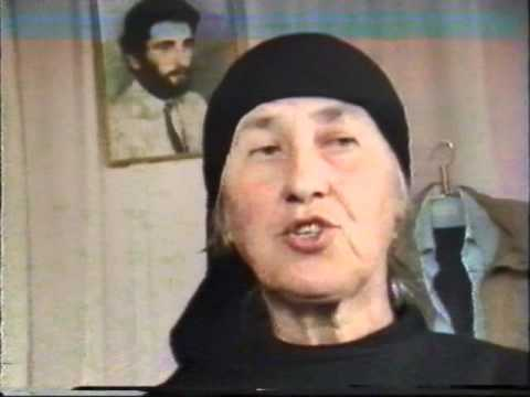 მხედრიონის მიერ ულმობელად მოკლული გოჩა ჯიქიას დედის რეპორტაჟი1991წ