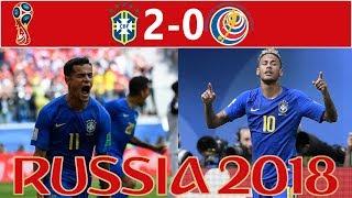 Brazil vs Costa Rica 2-0 Match Review - VAR Disallowed Penalty!