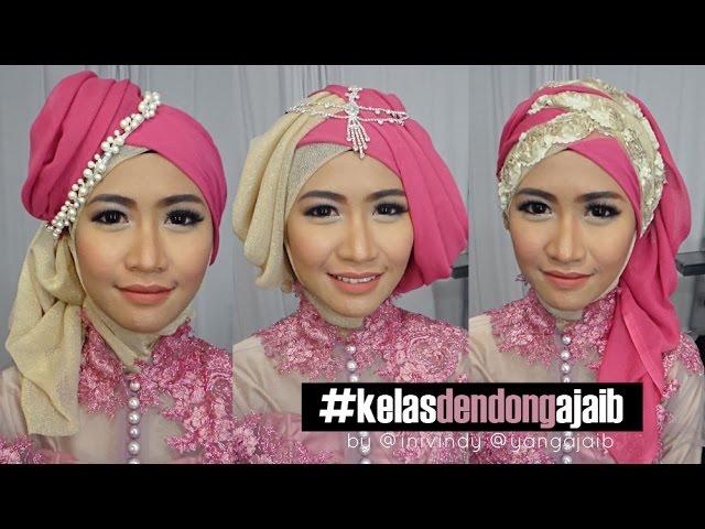 Tutorial Hijab Trend 2016 Untuk Wisuda Dan Kebaya Inivindy Youtube